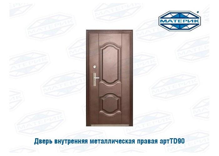 металлические двери левая